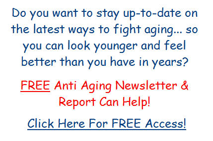 Free Anti Aging Newsletter And Report